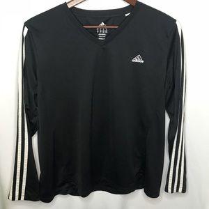 Adidas Active Three Stripes Long Sleeve Shirt